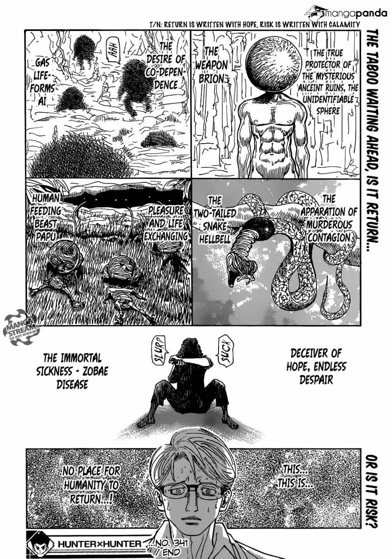 Hunter X Hunter Chapter 341  Online Free Manga Read Image 22