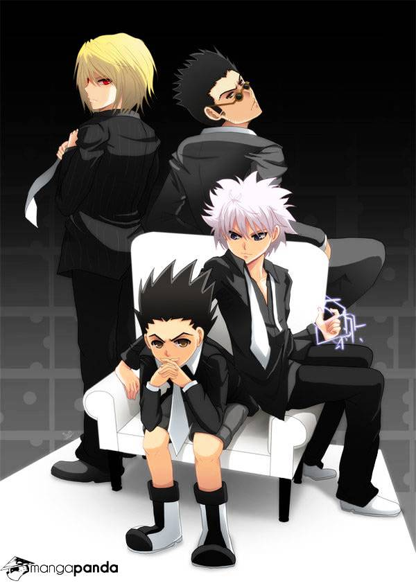 Hunter X Hunter Chapter 341  Online Free Manga Read Image 3