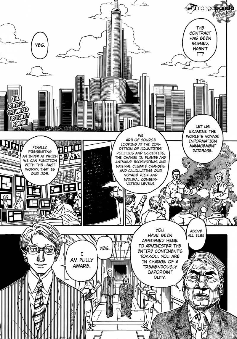 Hunter X Hunter Chapter 341  Online Free Manga Read Image 5