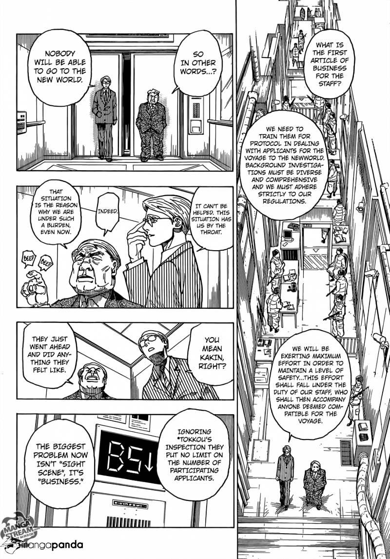Hunter X Hunter Chapter 341  Online Free Manga Read Image 6