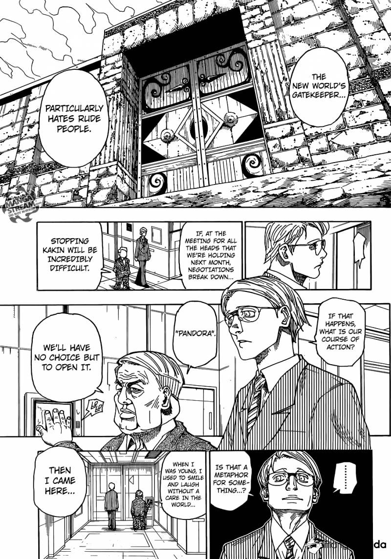 Hunter X Hunter Chapter 341  Online Free Manga Read Image 7