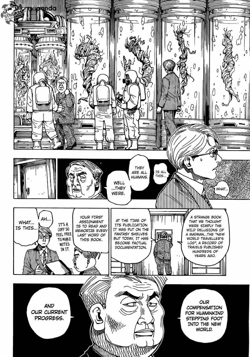 Hunter X Hunter Chapter 341  Online Free Manga Read Image 9
