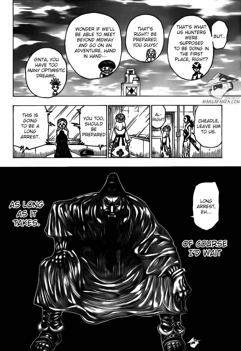 Hunter X Hunter Chapter 342  Online Free Manga Read Image 12