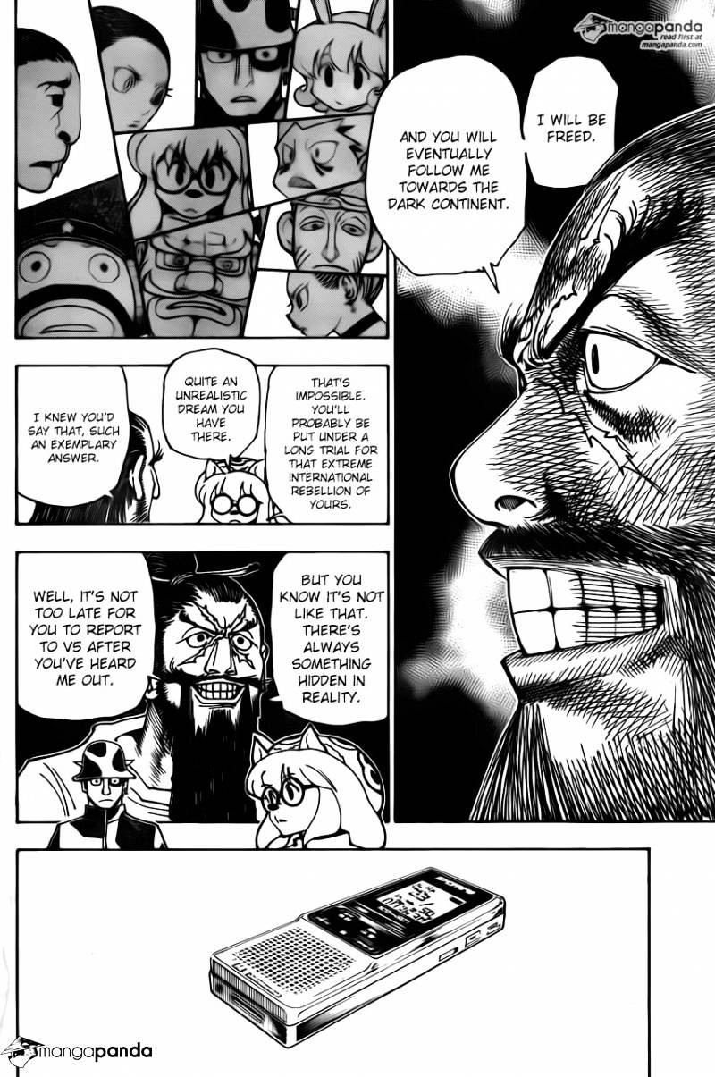 Hunter X Hunter Chapter 342  Online Free Manga Read Image 2