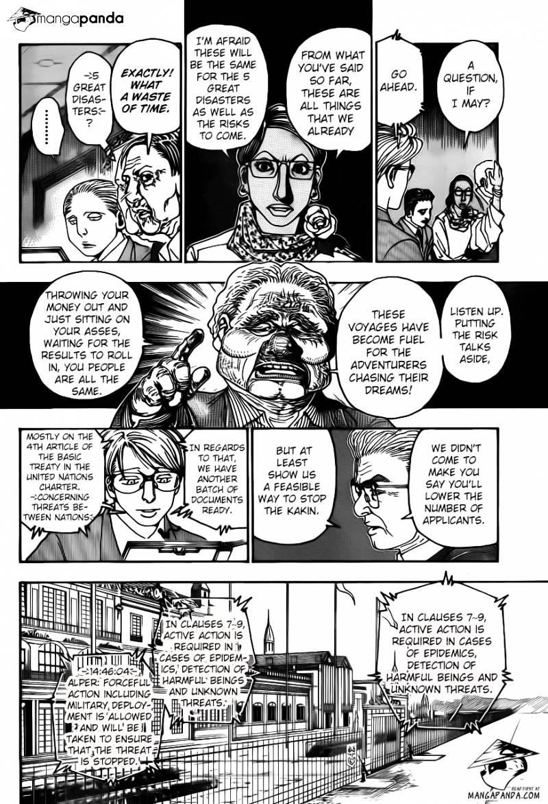 Hunter X Hunter Chapter 342  Online Free Manga Read Image 6