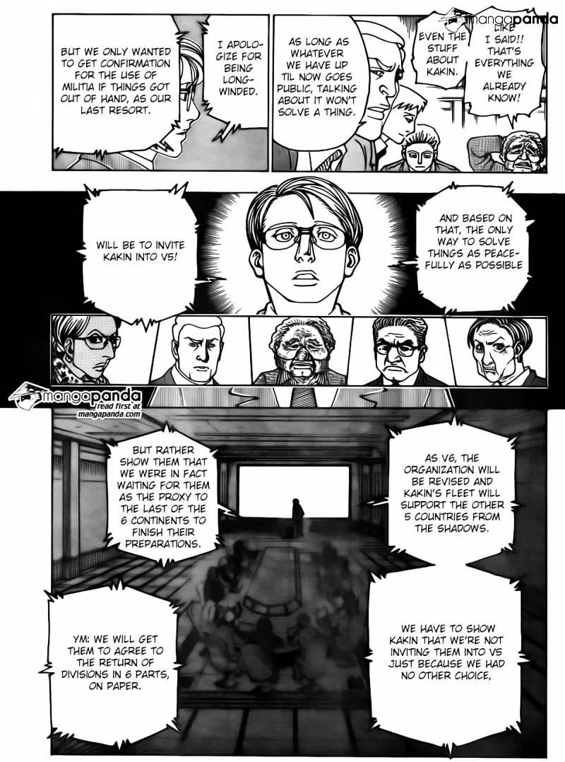 Hunter X Hunter Chapter 342  Online Free Manga Read Image 7