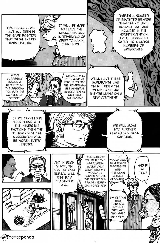 Hunter X Hunter Chapter 342  Online Free Manga Read Image 8