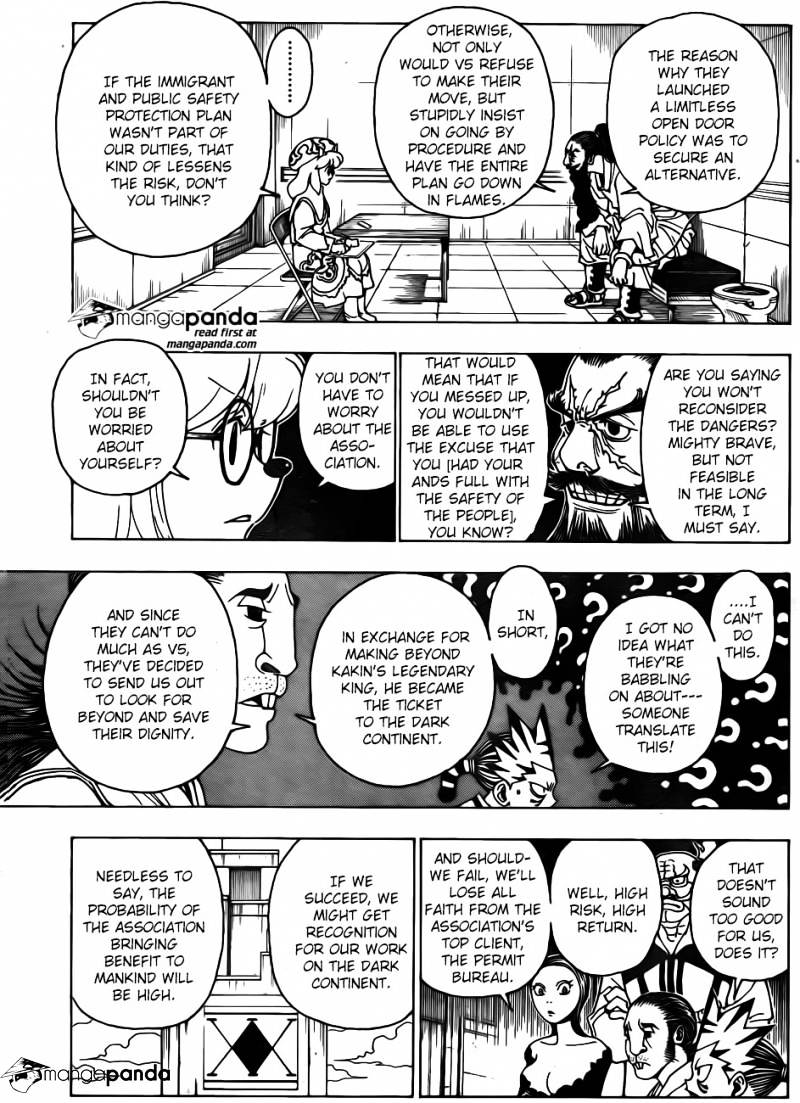 Hunter X Hunter Chapter 342  Online Free Manga Read Image 9