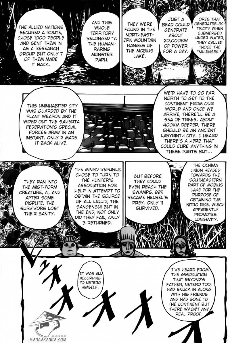 Hunter X Hunter Chapter 344  Online Free Manga Read Image 12