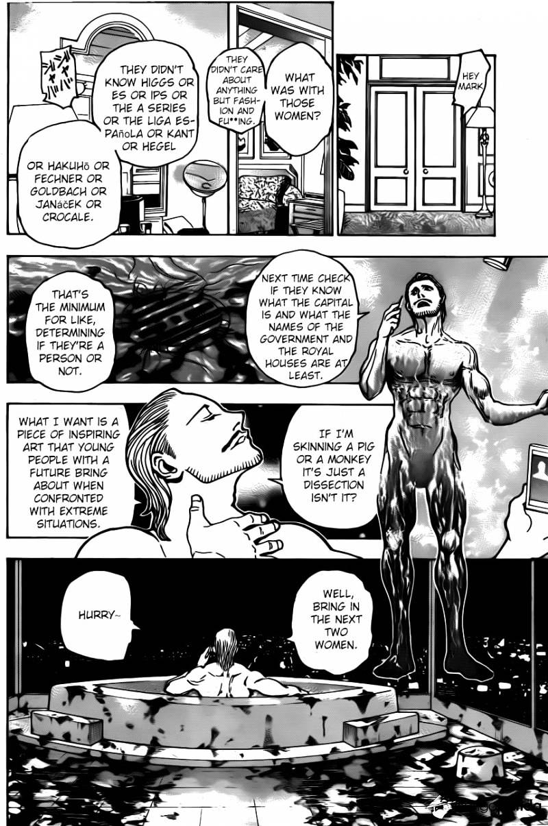 Hunter X Hunter Chapter 345  Online Free Manga Read Image 14