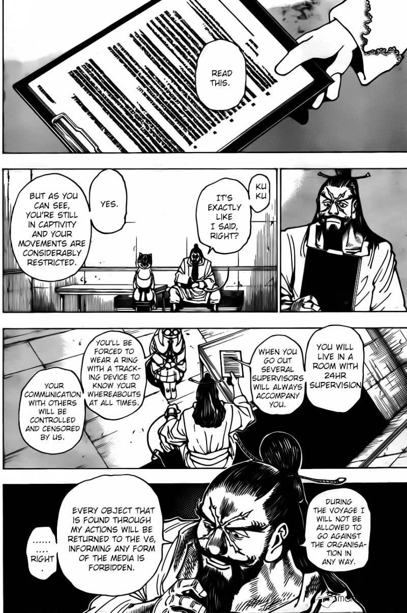 Hunter X Hunter Chapter 345  Online Free Manga Read Image 16