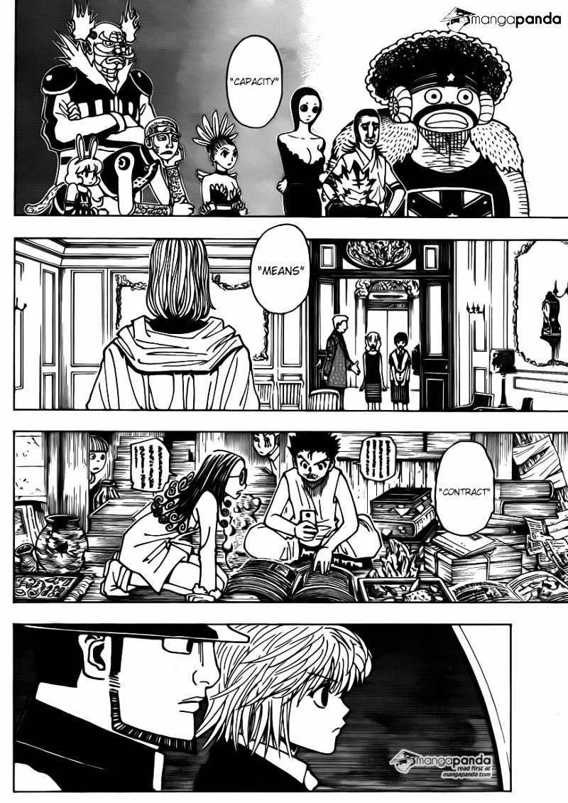 Hunter X Hunter Chapter 345  Online Free Manga Read Image 18