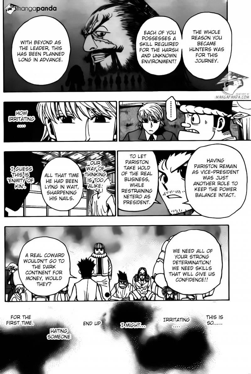 Hunter X Hunter Chapter 345  Online Free Manga Read Image 8