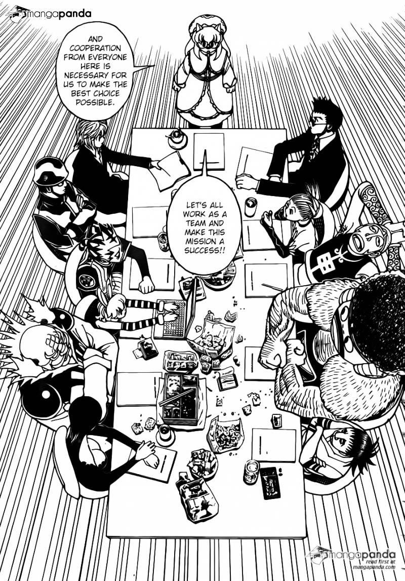 Hunter X Hunter Chapter 346  Online Free Manga Read Image 10
