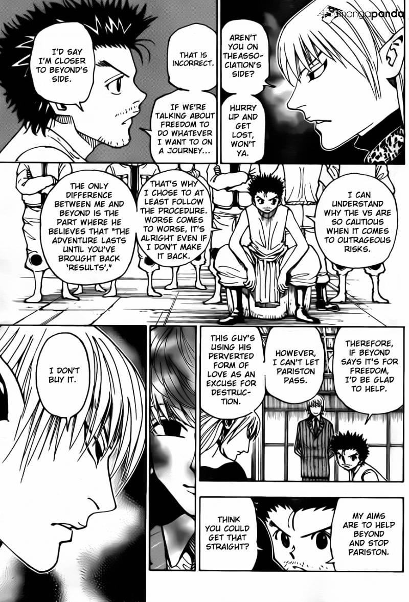 Hunter X Hunter Chapter 346  Online Free Manga Read Image 16
