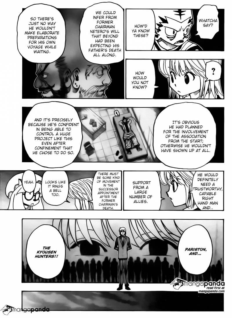 Hunter X Hunter Chapter 346  Online Free Manga Read Image 4
