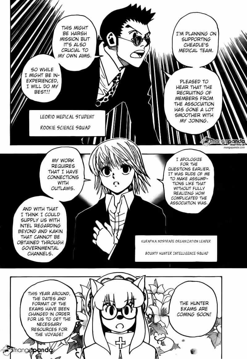 Hunter X Hunter Chapter 346  Online Free Manga Read Image 9