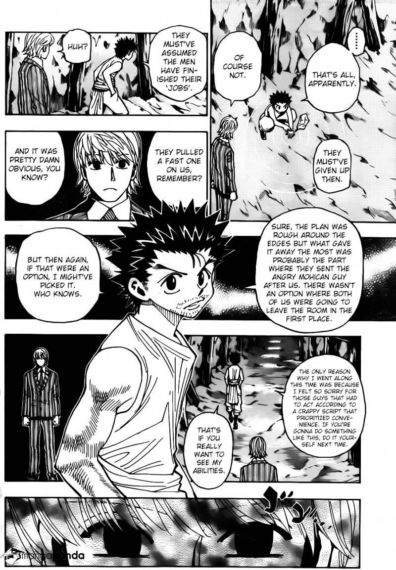 Hunter X Hunter Chapter 347  Online Free Manga Read Image 10