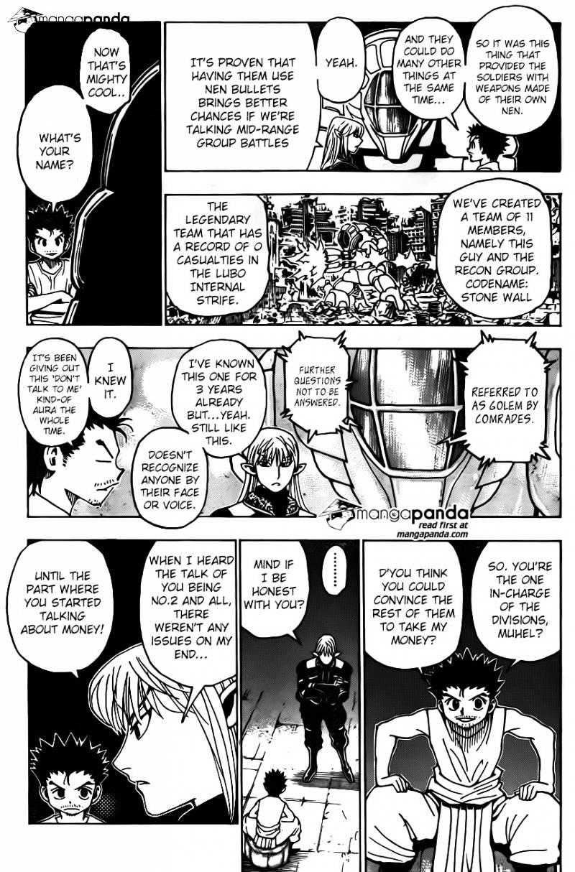 Hunter X Hunter Chapter 347  Online Free Manga Read Image 13
