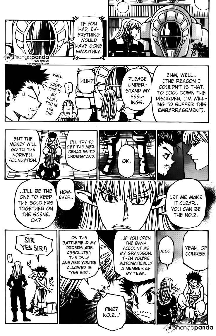 Hunter X Hunter Chapter 347  Online Free Manga Read Image 18