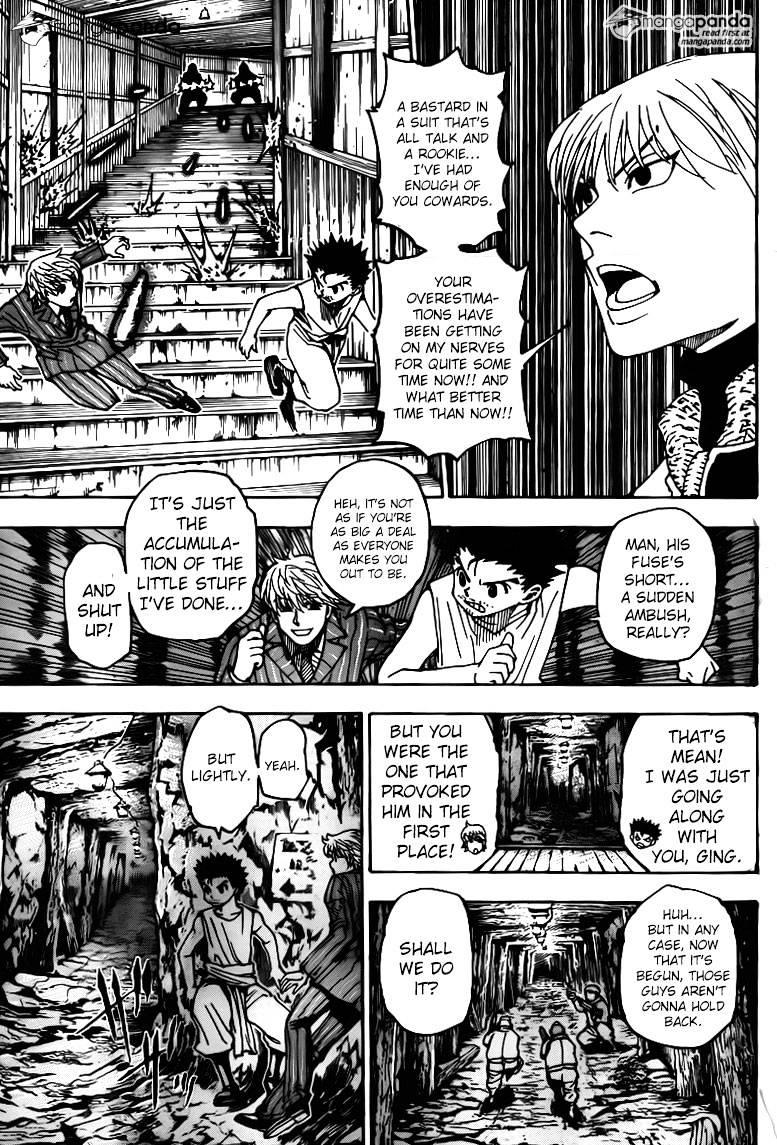 Hunter X Hunter Chapter 347  Online Free Manga Read Image 3