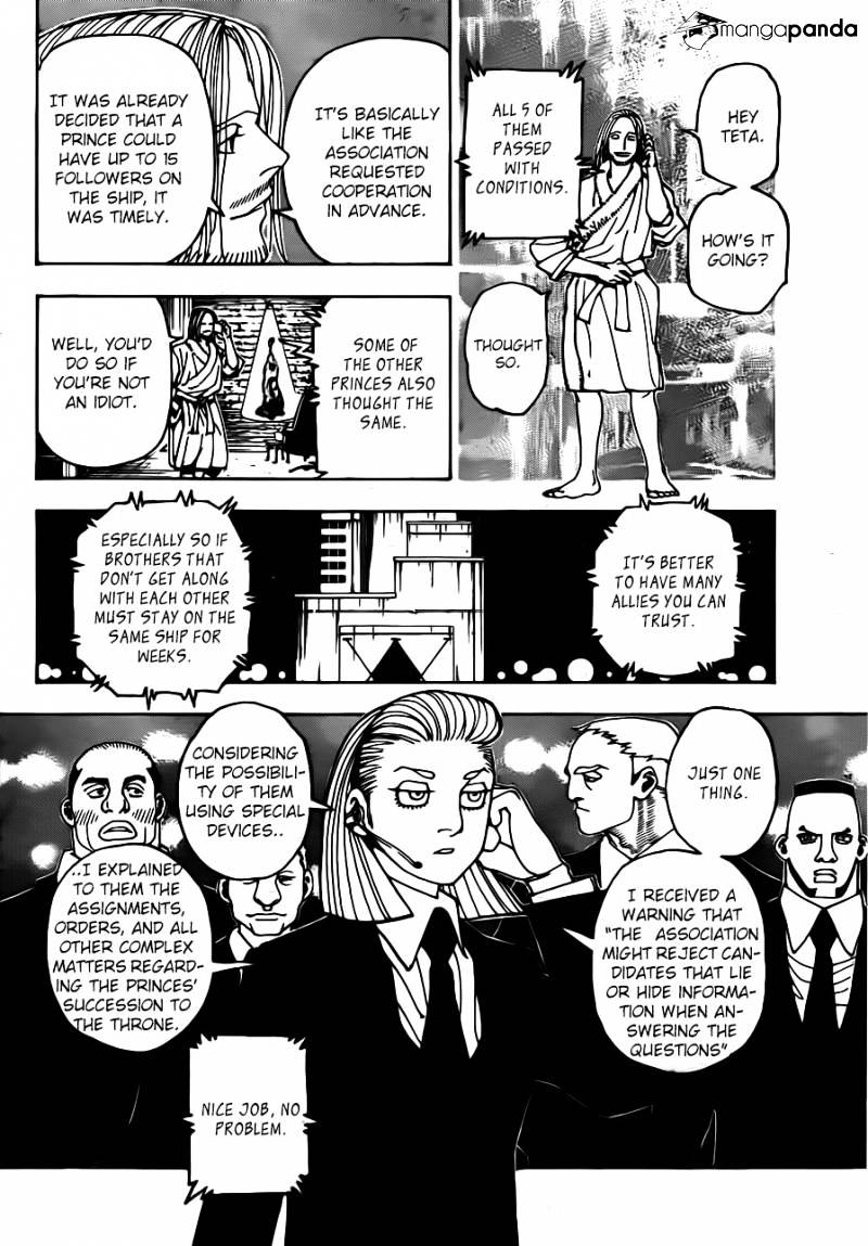 Hunter X Hunter Chapter 348  Online Free Manga Read Image 10