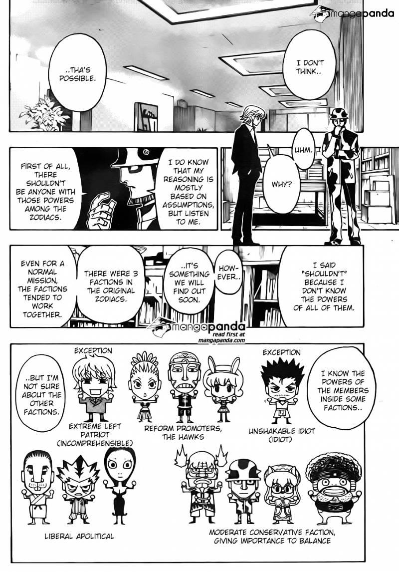 Hunter X Hunter Chapter 348  Online Free Manga Read Image 12