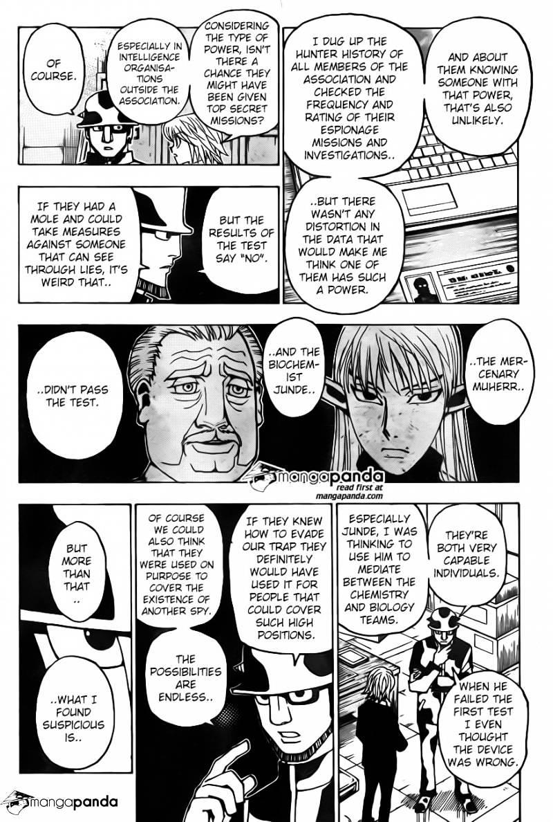 Hunter X Hunter Chapter 348  Online Free Manga Read Image 14