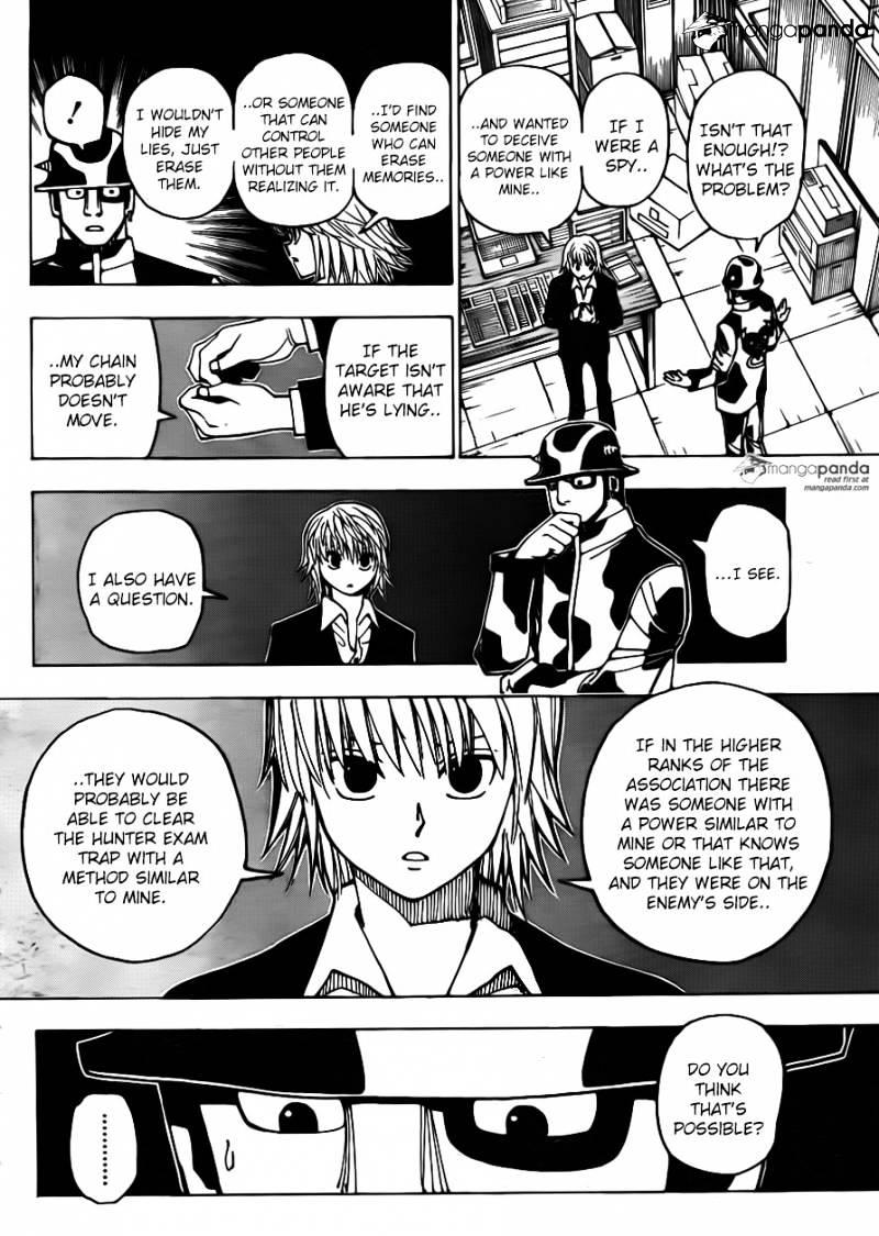 Hunter X Hunter Chapter 348  Online Free Manga Read Image 4