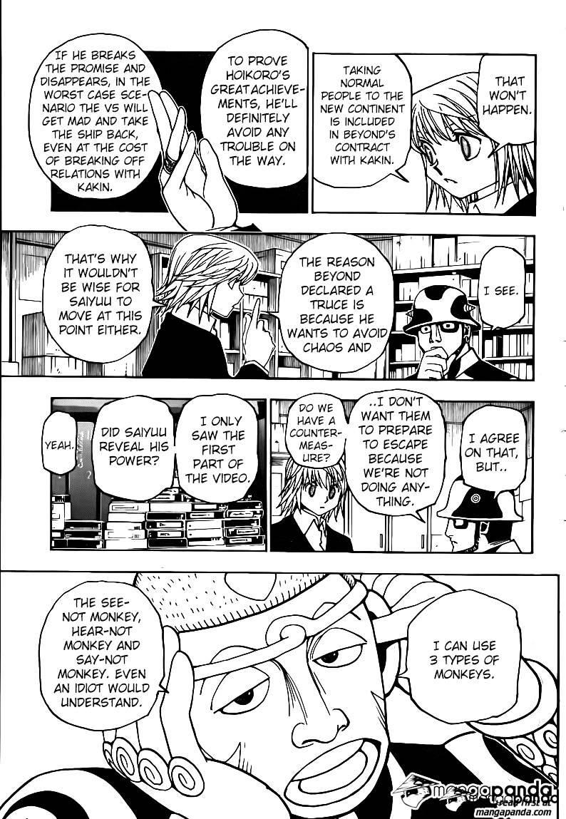 Hunter X Hunter Chapter 349  Online Free Manga Read Image 14