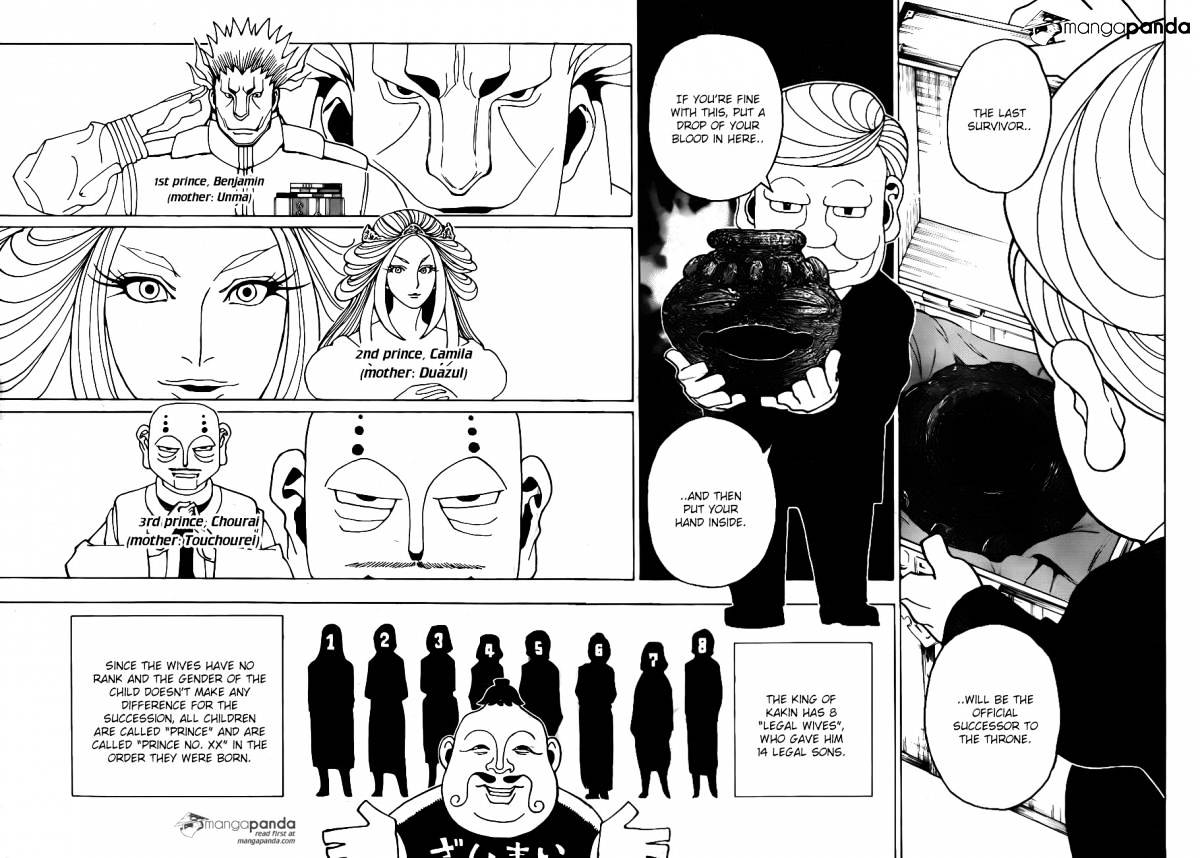Hunter X Hunter Chapter 349  Online Free Manga Read Image 2