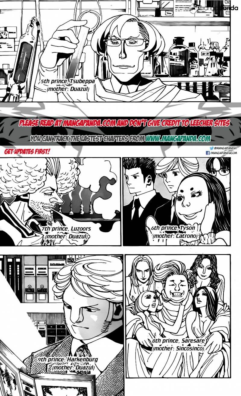 Hunter X Hunter Chapter 349  Online Free Manga Read Image 4