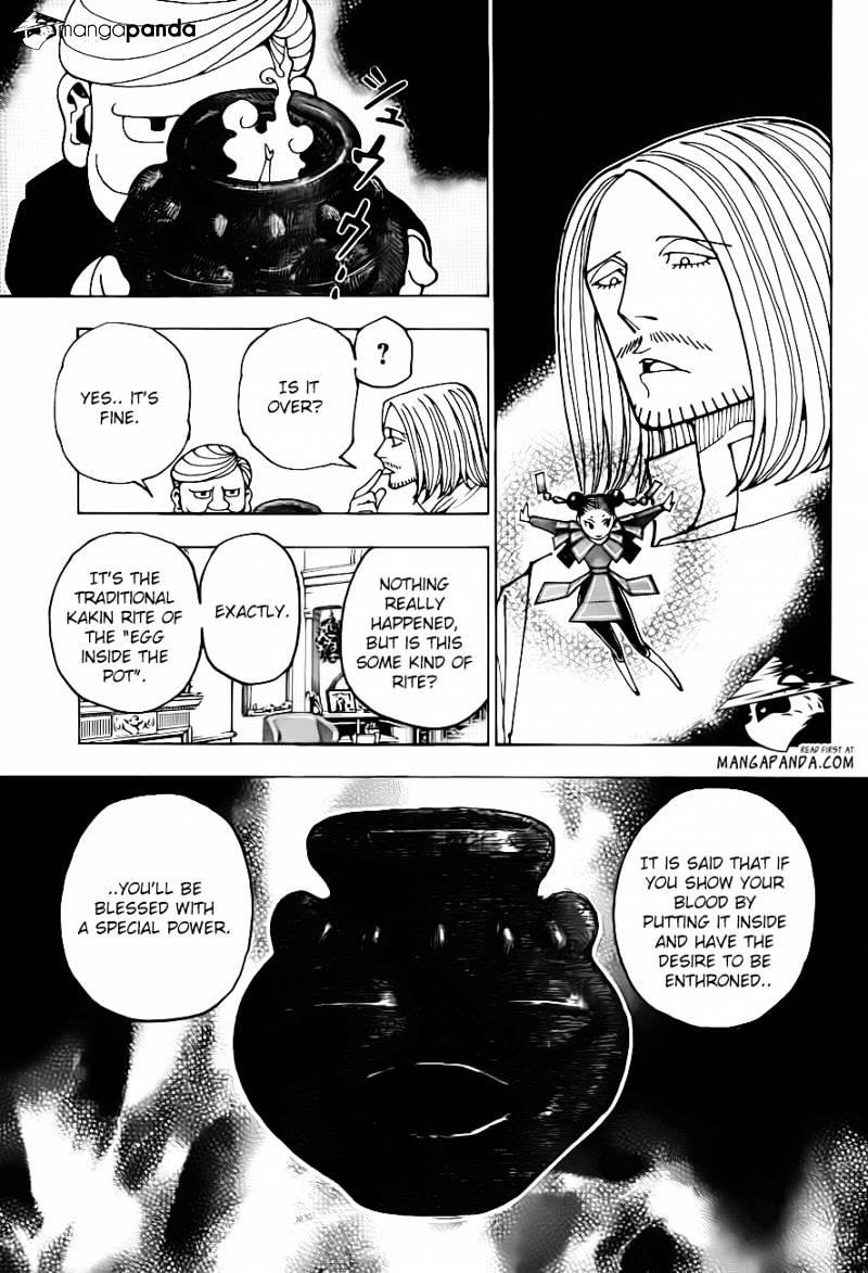 Hunter X Hunter Chapter 349  Online Free Manga Read Image 8