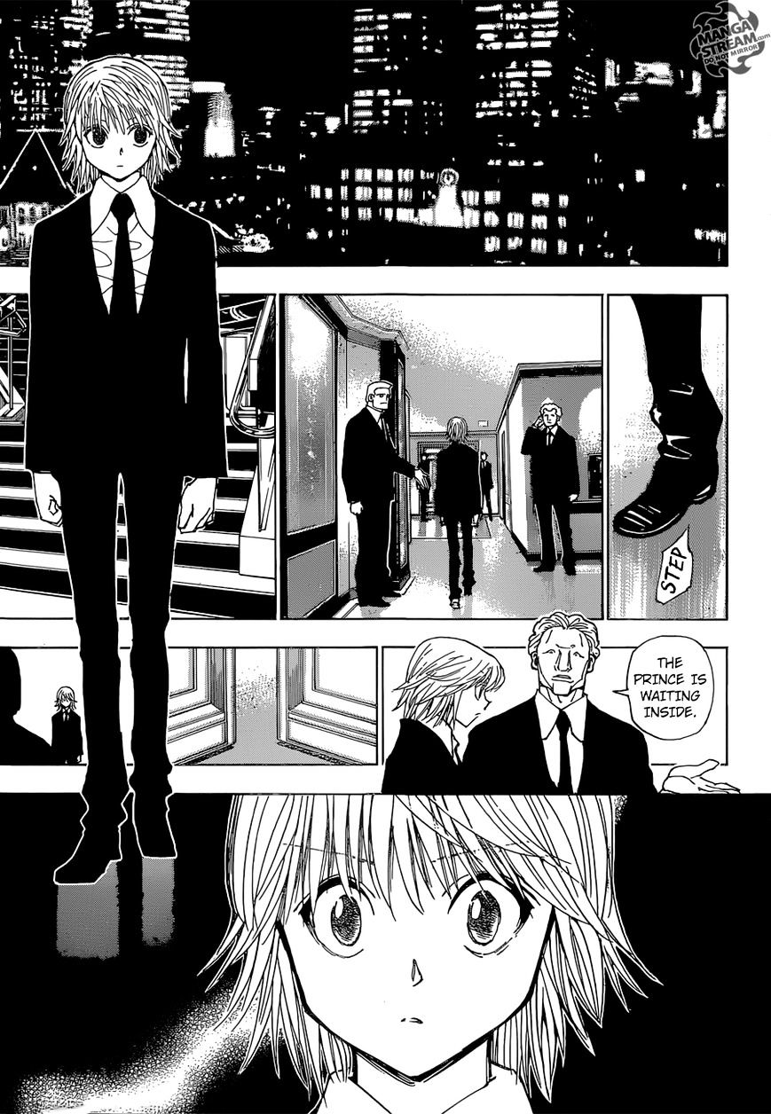 Hunter X Hunter Chapter 350  Online Free Manga Read Image 12