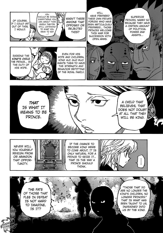 Hunter X Hunter Chapter 350  Online Free Manga Read Image 17