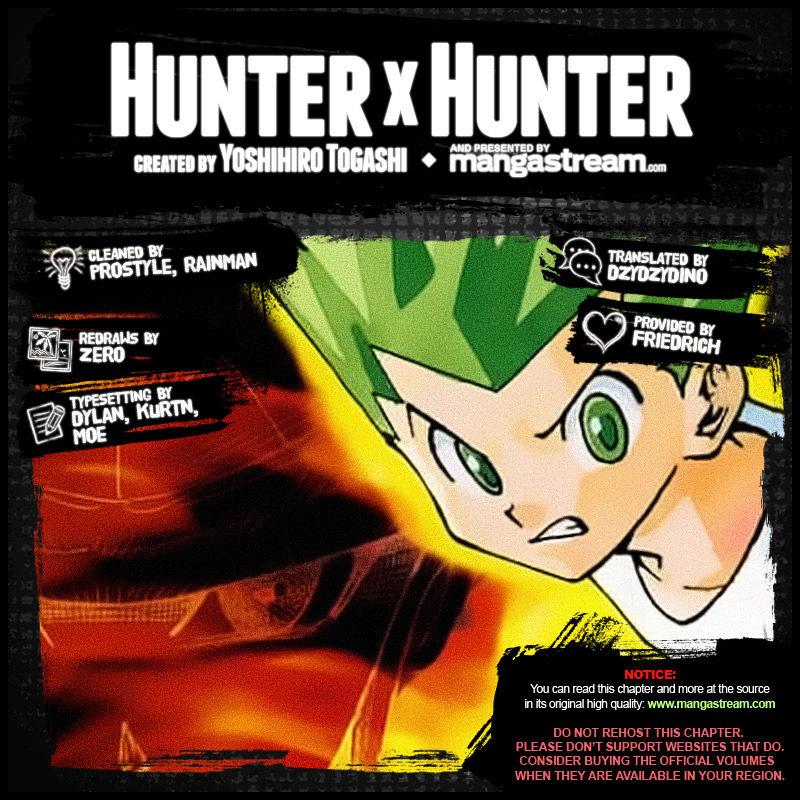 Hunter X Hunter Chapter 350  Online Free Manga Read Image 2