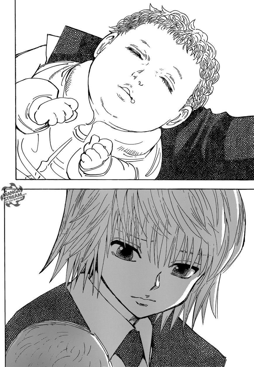 Hunter X Hunter Chapter 350  Online Free Manga Read Image 21