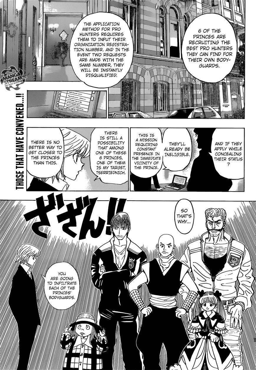 Hunter X Hunter Chapter 350  Online Free Manga Read Image 4