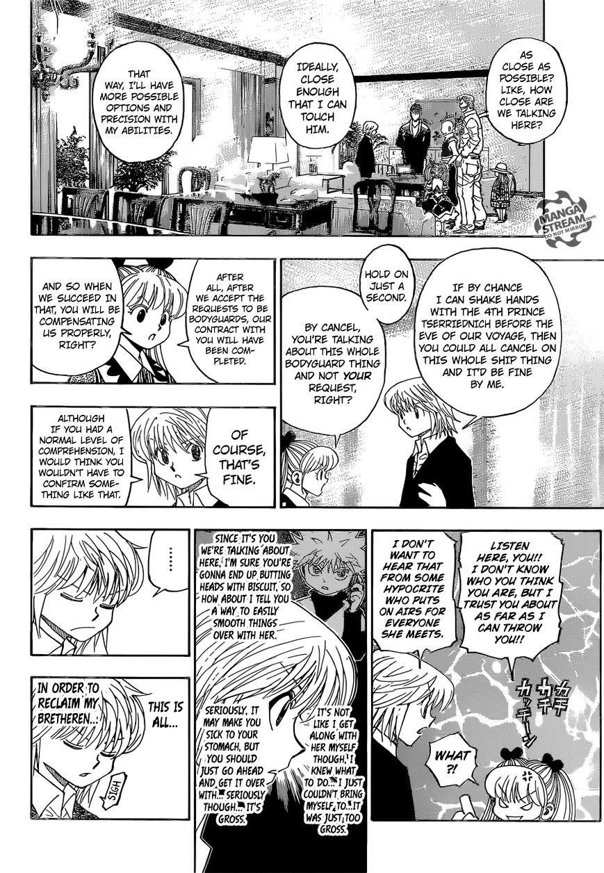 Hunter X Hunter Chapter 350  Online Free Manga Read Image 7