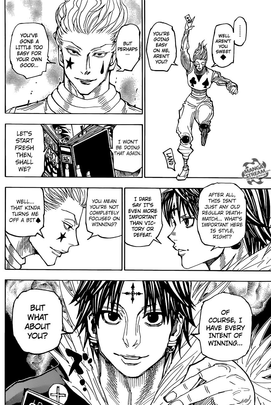 Hunter X Hunter Chapter 351  Online Free Manga Read Image 18