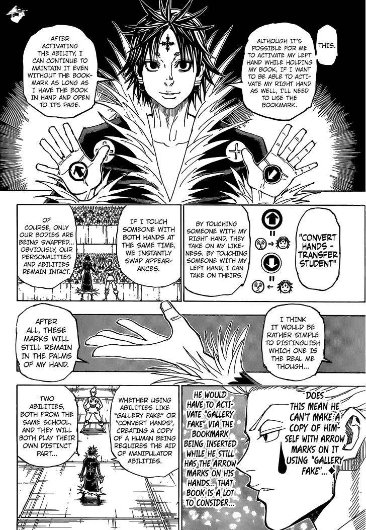 Hunter X Hunter Chapter 352  Online Free Manga Read Image 8