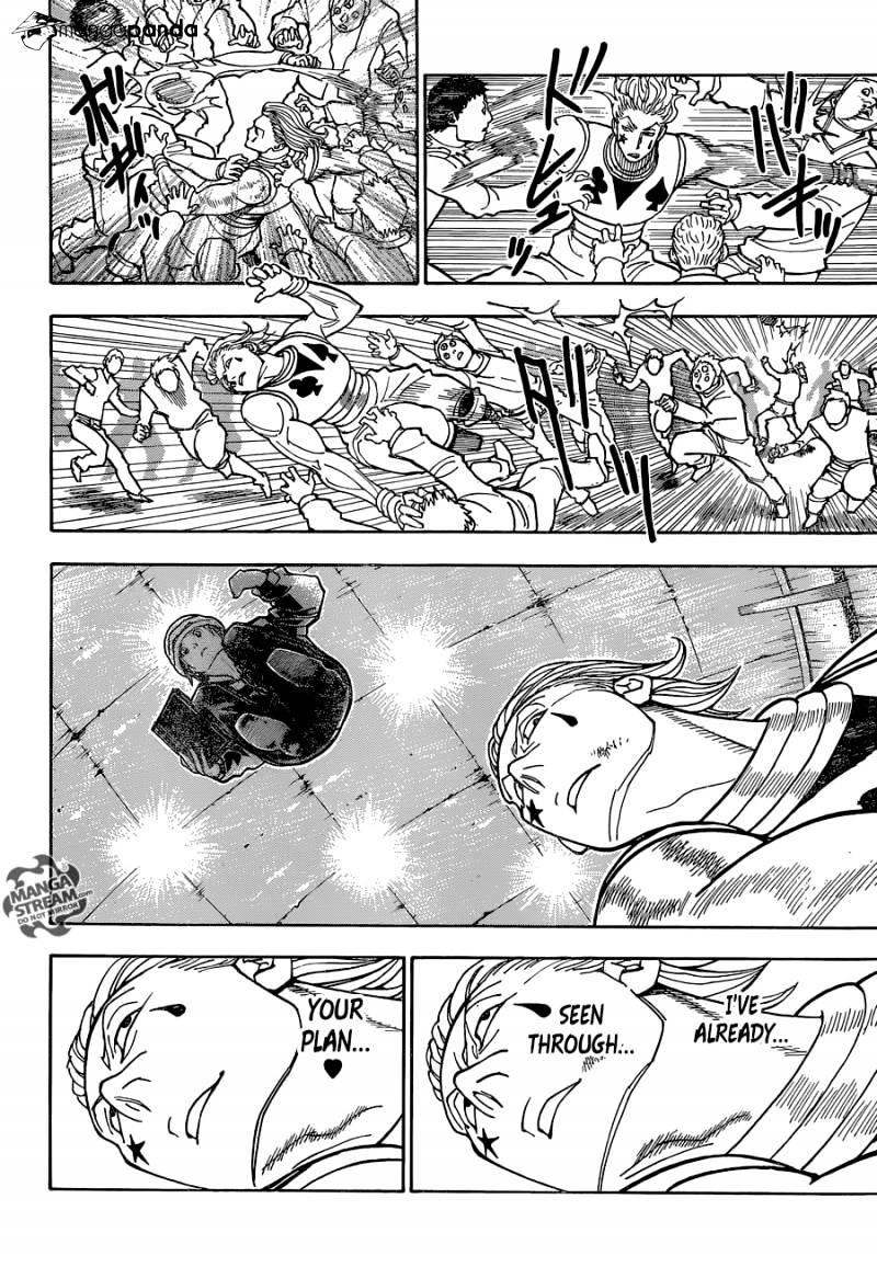 Hunter X Hunter Chapter 353  Online Free Manga Read Image 16