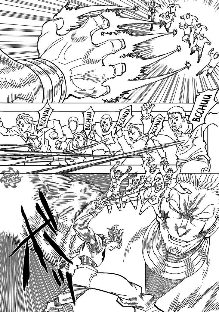 Hunter X Hunter Chapter 355  Online Free Manga Read Image 11