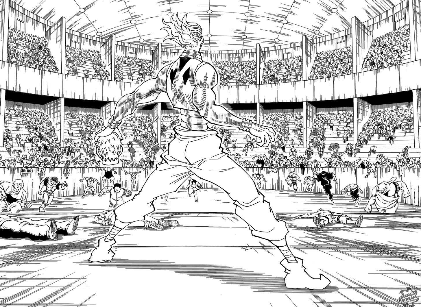 Hunter X Hunter Chapter 355  Online Free Manga Read Image 9