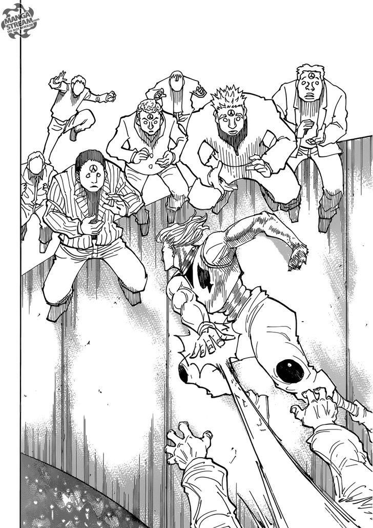Hunter X Hunter Chapter 356  Online Free Manga Read Image 11