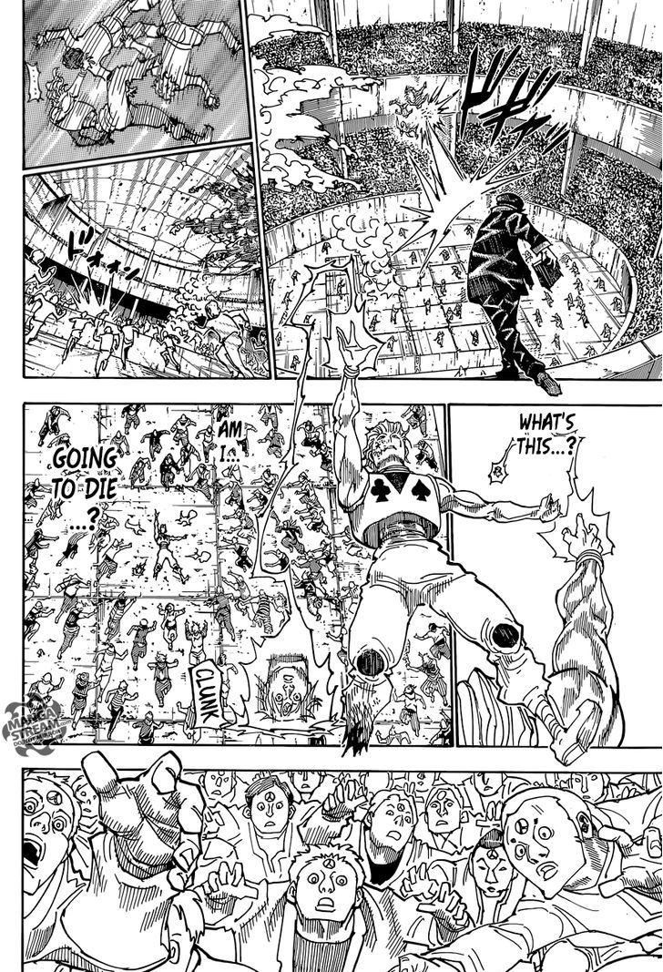 Hunter X Hunter Chapter 356  Online Free Manga Read Image 19