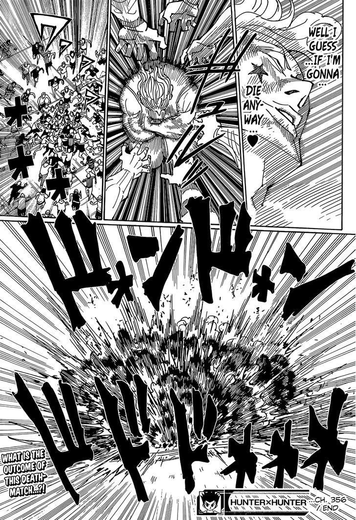 Hunter X Hunter Chapter 356  Online Free Manga Read Image 20