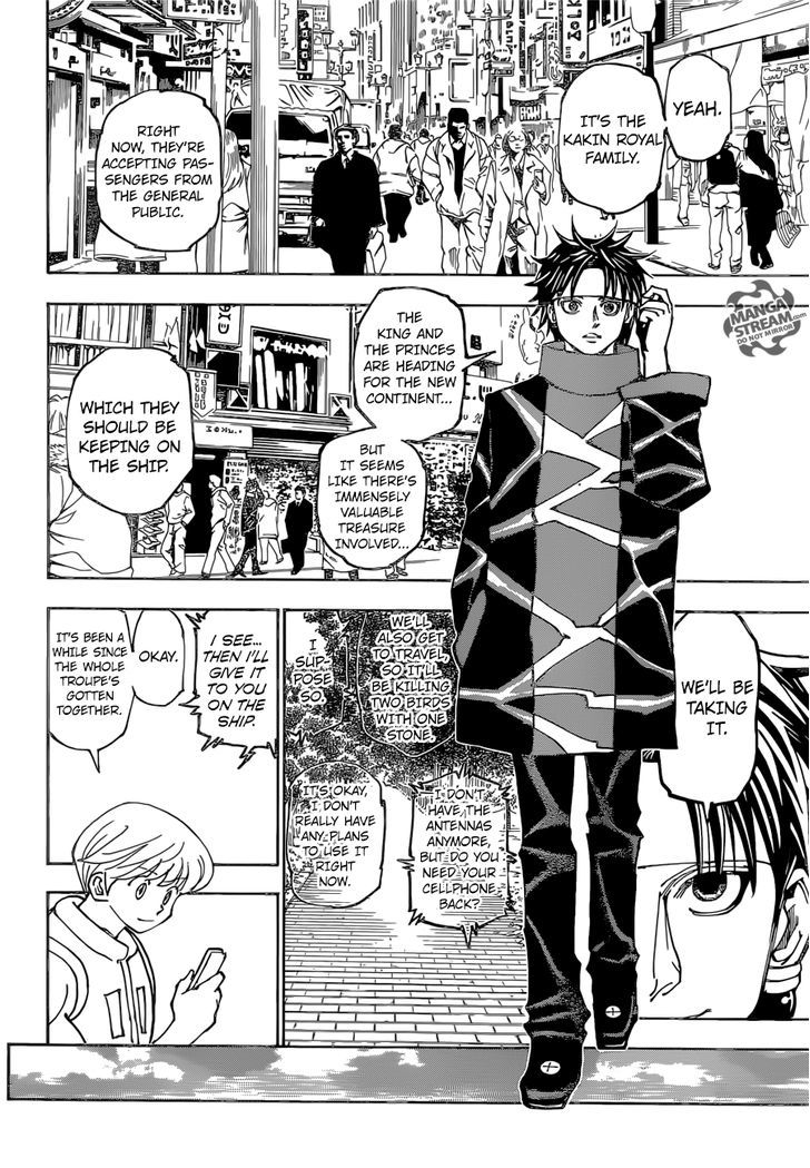 Hunter X Hunter Chapter 357  Online Free Manga Read Image 17