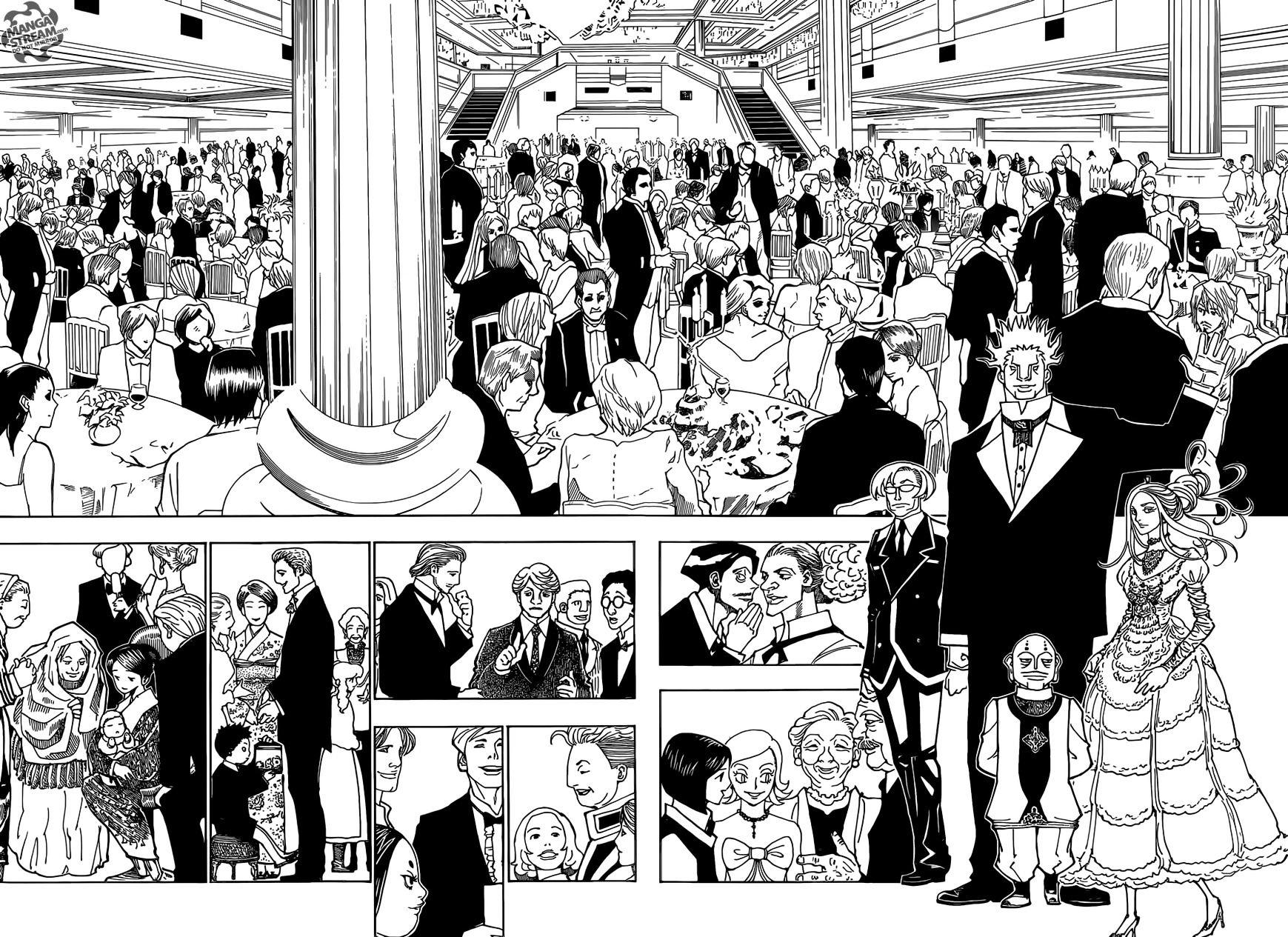 Hunter X Hunter Chapter 358  Online Free Manga Read Image 10