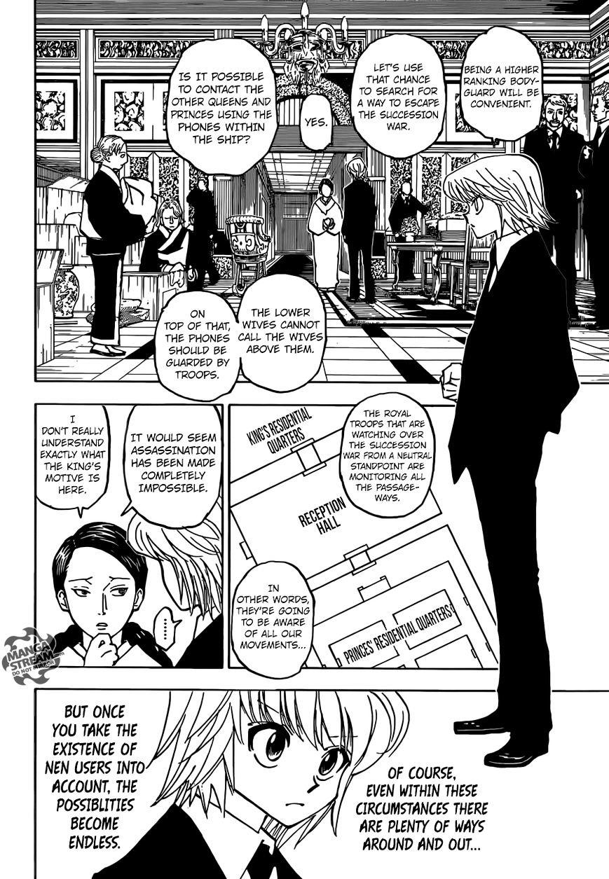 Hunter X Hunter Chapter 358  Online Free Manga Read Image 13